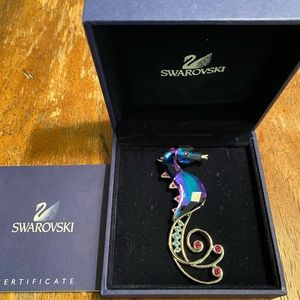 Genuine Swarovski Signed with the Swan Logo